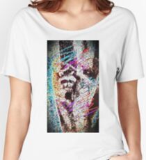 80's Raccoon - stylish design Women's Relaxed Fit T-Shirt