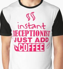 81fe22ff8 Receptionist Funny Gift Graphic T-Shirt
