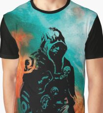Magic Planeswalker Profile - Jace Beleren - Abstract  Graphic T-Shirt