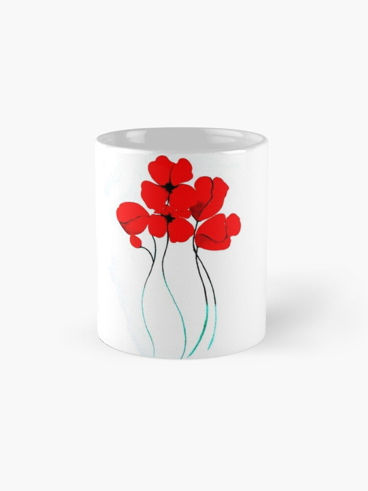 Vista alternativa de Taza Poppies