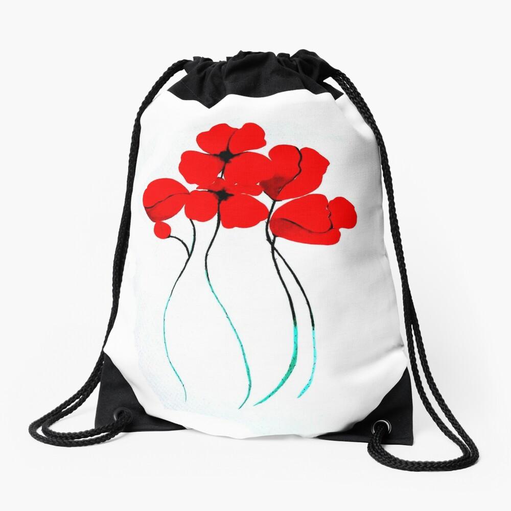 Poppies Mochila saco