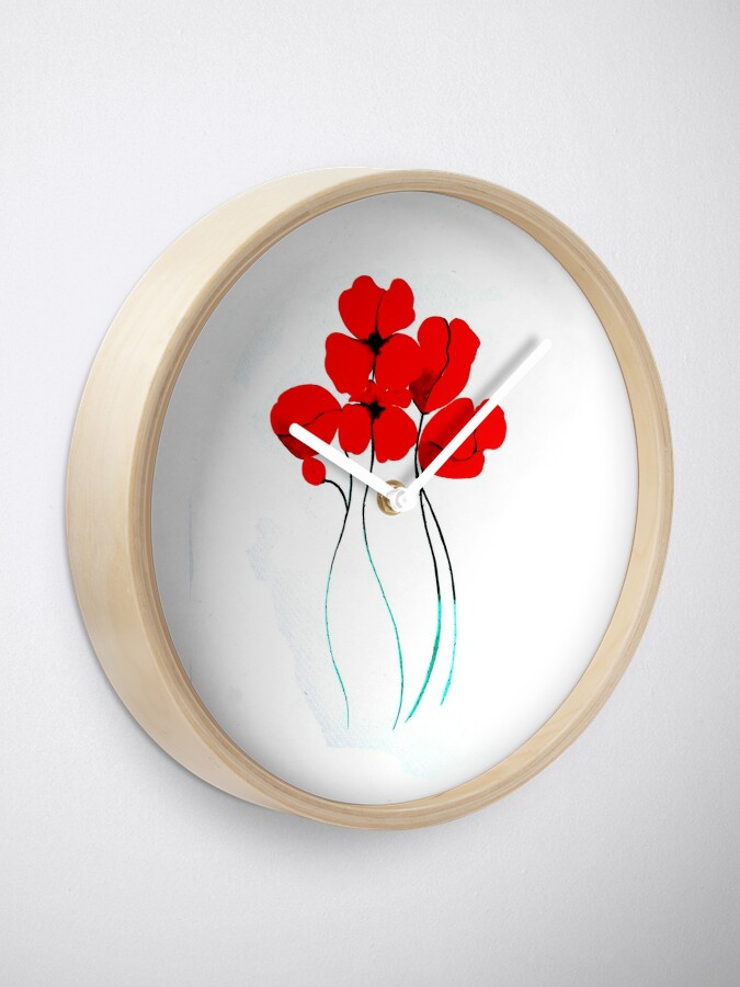 Vista alternativa de Reloj Poppies