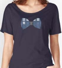 """""""Bow Ties ARE Cool."""" - Dr. Who (Bow tie image only) Women's Relaxed Fit T-Shirt"""