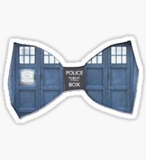 """Bow Ties ARE Cool."" - Dr. Who (Bow tie image only) Sticker"