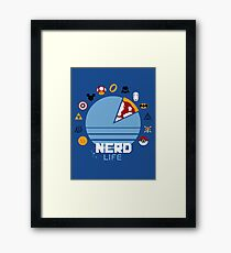 Nerd Life Framed Print