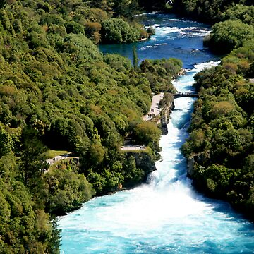 Huka Falls by Chanel2
