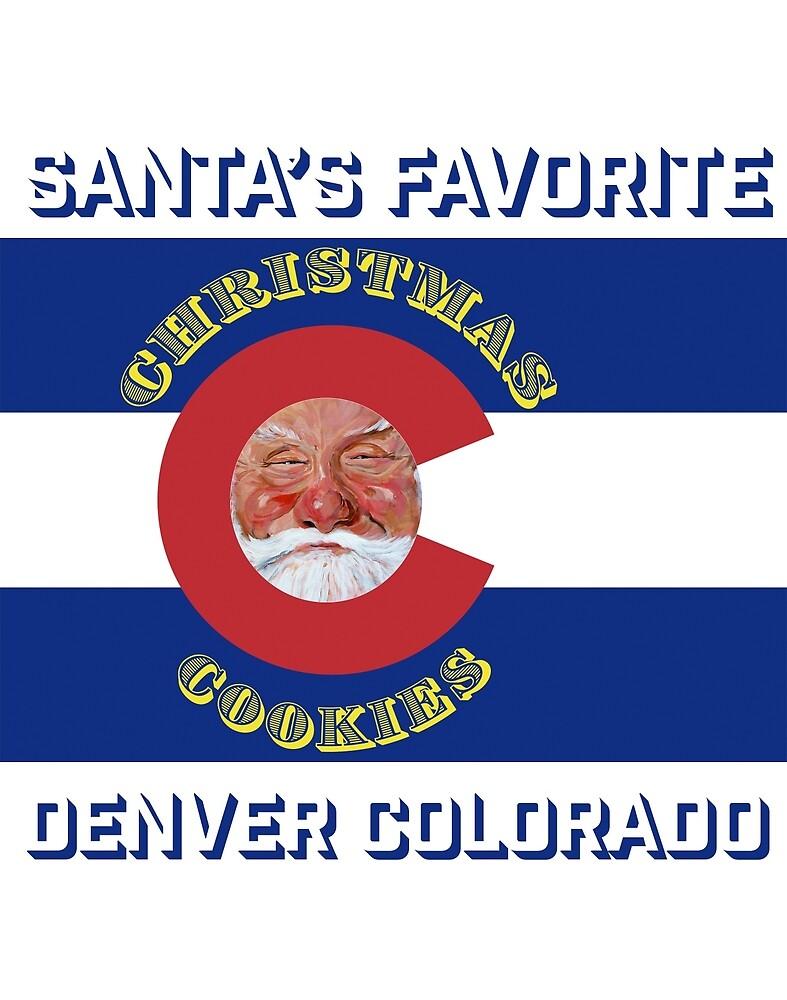 Santa's Favorite Christmas Cookies by Tom Roderick