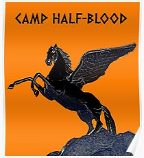 CAMP HALF-BLOOD - PERCY JACKSON Poster