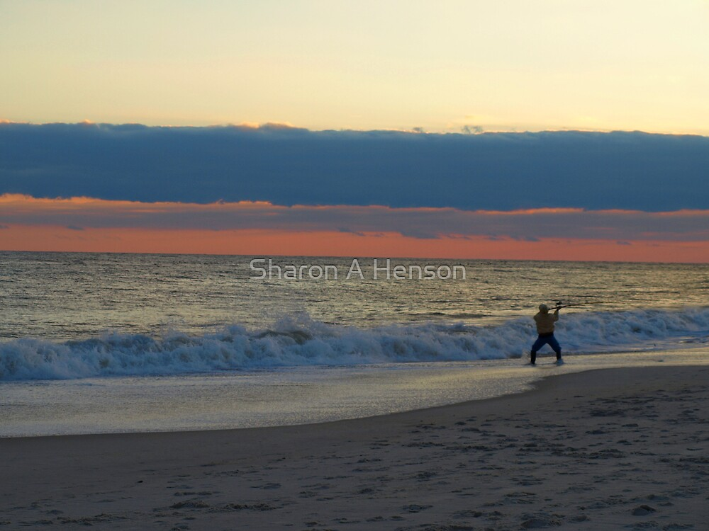 FISHING IN THE ALTANTIC by Sharon A. Henson