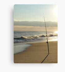 SALT WATER FISHING Canvas Print