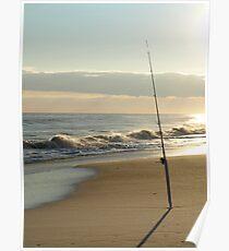 SALT WATER FISHING Poster