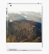 Rocky Mountains Aerial View iPad Case/Skin