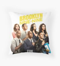 Nine nine! Throw Pillow
