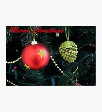 Christmas Card Photographic Print