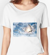 Seagull Flying Women's Relaxed Fit T-Shirt