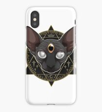 Occult 3 Eyes  iPhone Case/Skin