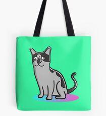 Far Out Cat by Josh Schultz Tote Bag