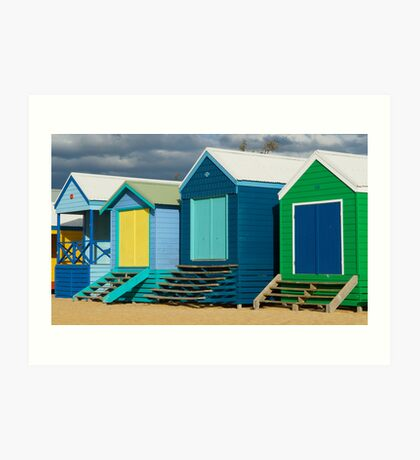 Mount Martha, On the Beach, #2 Art Print