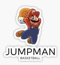 Jumpman x Mario Sticker