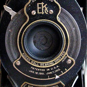 Old Kodak Camera Lens by collageDP