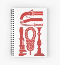 Kill Mr. Body - Scarlet Spiral Notebook
