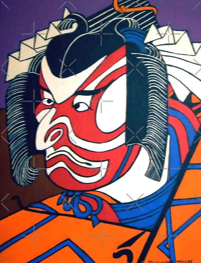 Kabuki Actor by Shulie1
