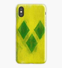 Saint Vincent And Grenadines Flag Reworked No. 1, Series 2 iPhone Case/Skin