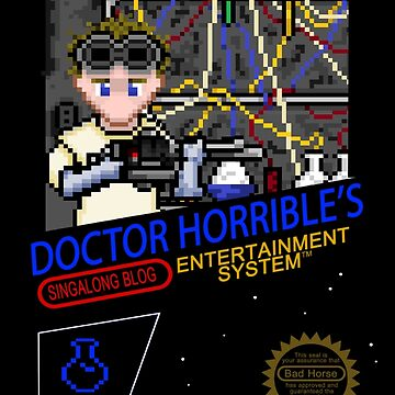 NINTENDO: NES DOCTOR HORRIBLE  by thedoctor37