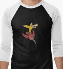 M Blackwell - Two Birds... Men's Baseball ¾ T-Shirt