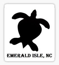 Sea turtle ( Emerald Isle, NC) Sticker