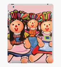 Mexican Maria  Dolls In Pink  iPad Case/Skin