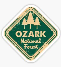 Ozark National Forest Sticker