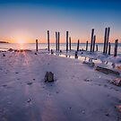 Port Willunga Sunset by Raymond Warren