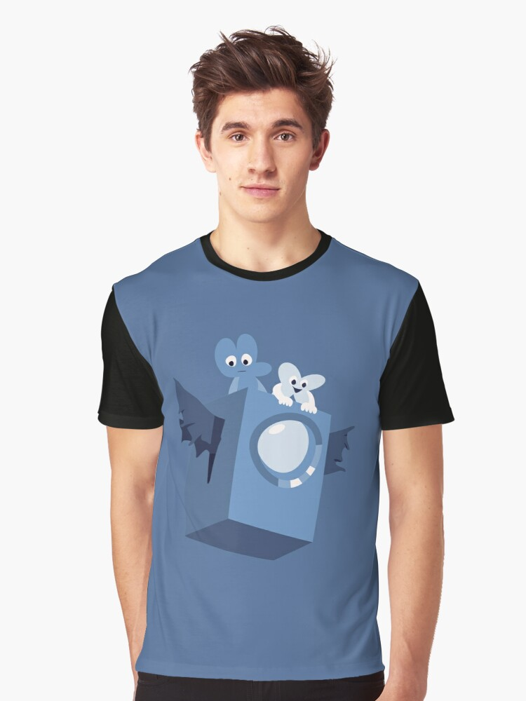 Cave Story x BFB Graphic T-Shirt Front