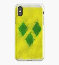 Saint Vincent And Grenadines Flag Reworked No. 66, Series 4 iPhone Case/Skin