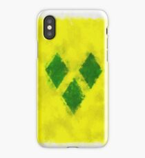 Saint Vincent And Grenadines Flag Reworked No. 66, Series 5 iPhone Case/Skin