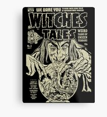 Witches Tales #3 Metal Print
