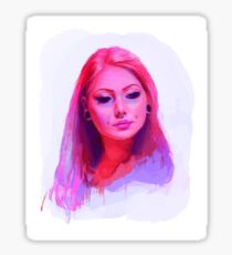 Vanity Pink Sticker
