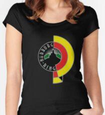 Nürburgring Vintage 2.0 GERMAN Theme Women's Fitted Scoop T-Shirt