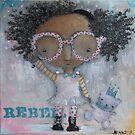 Rebel, #100 by JenPriceDavis
