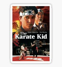 Karate Kid=poster Sticker