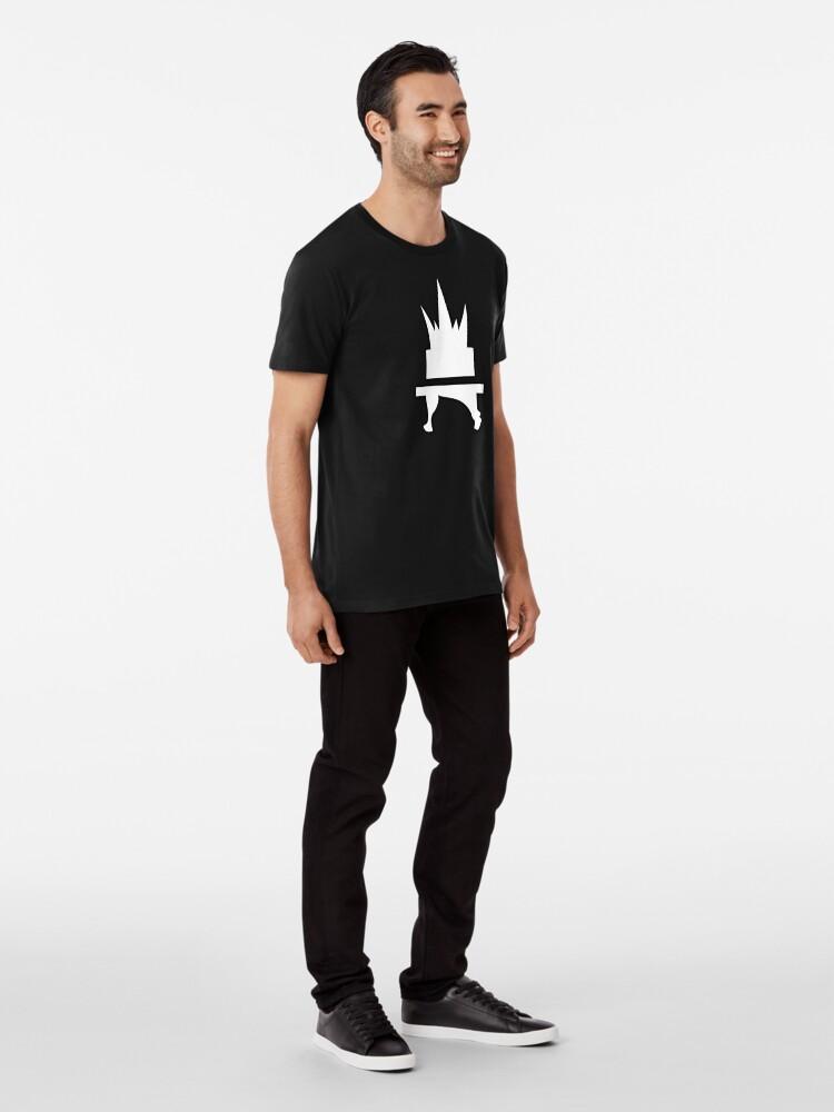 Alternate view of Crazyblox Logo Premium T-Shirt