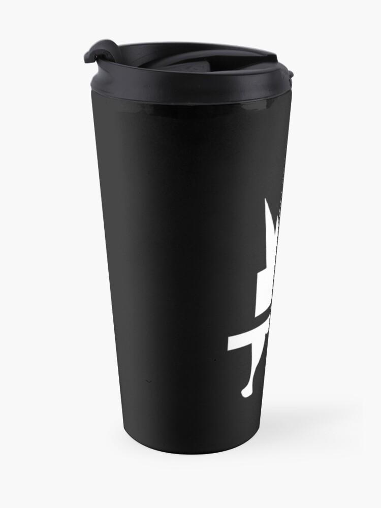 Alternate view of Crazyblox Logo Travel Mug