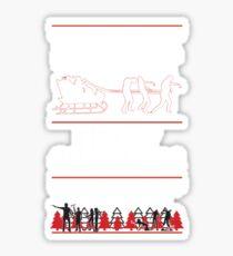 Zombie Christmas Sticker