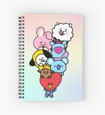 BT21 Spiral Notebook