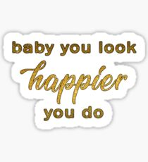 Happier - Ed Sheeran Sticker