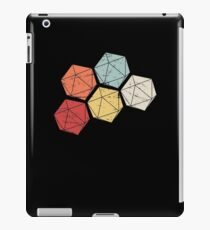 Retro Vintage D20 Roleplaying Game Dice iPad Case/Skin