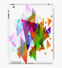 Abstract Triangle Graphics iPad Case/Skin