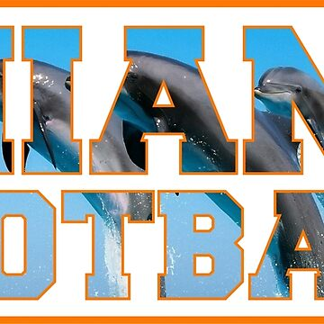 Football Dolphins by station360