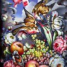 Zhostovo Birds by BWootla